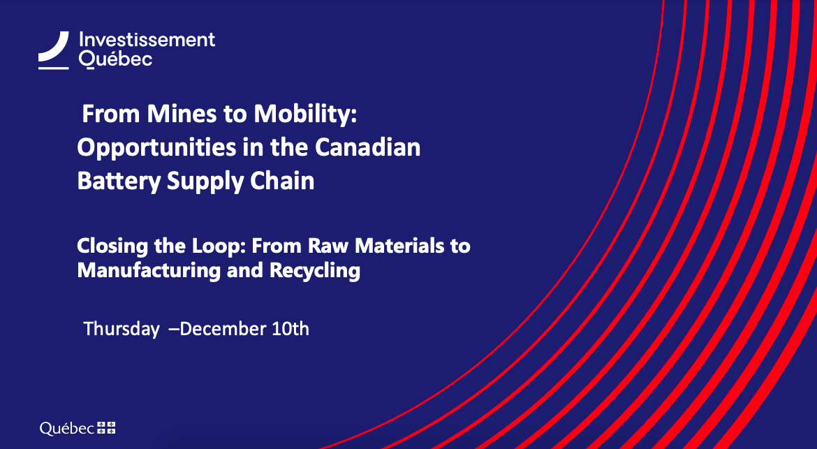 From Mines to Mobility: Opportunities in the Canadian Battery Supply Chain