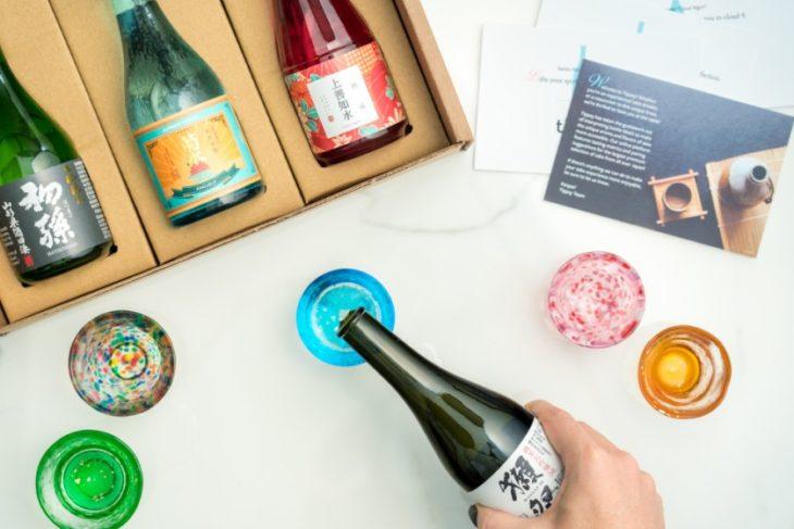 "Review: Tippsy ""Sake Box"" Service and Shirataki Jozen Sakes"