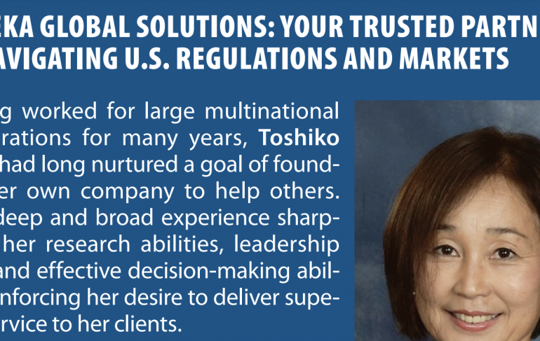 Your trusted partner in navigating U.S. regulations and markets